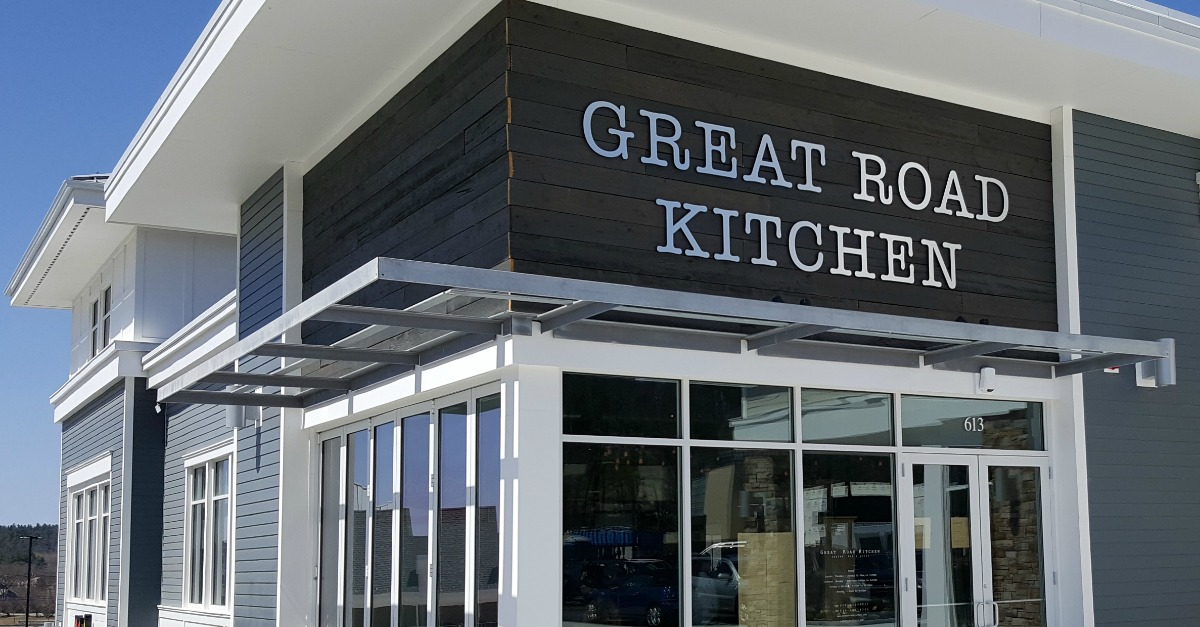 to check out the new Great Road Kitchen in Littleton, MA recently